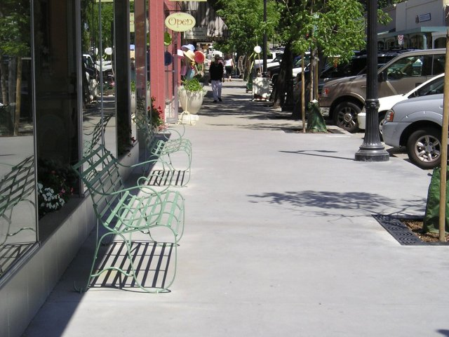 Petaluma Downtown Streetscape